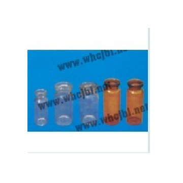 Low borosilicate glass controlled injection bottle 2