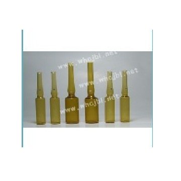 Silica glass ampoule