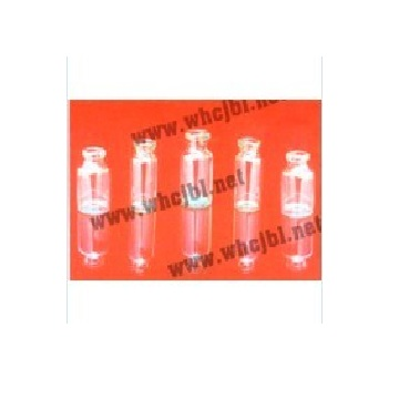 Low borosilicate glass controlled injection bottle 1