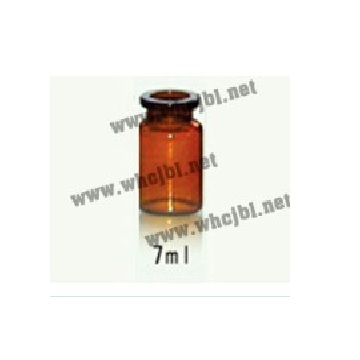 Low borosilicate glass controlled injection bottle 3