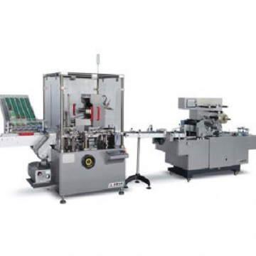 JDZ120LZ Automatic Condom Cartoning/Cellphane Overwrapping Production Line