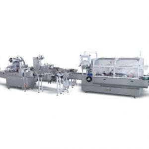 JDZ-260 Automatic High Speed continuous Cartoning Machine for double flowpack