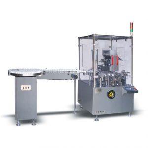 JDZ120P Automatic Vertical Type Bottle Cartoning Machine