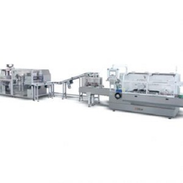 JDZ260LP Automatic high speed alu-pvc blister-cartoning production line