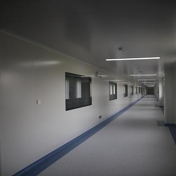 Clean the corridor