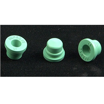 Halogenated butyl rubber plug (L1 green) for vacuum blood collector