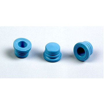 Halogenated butyl rubber plug for vacuum blood collector (15.4 blue)