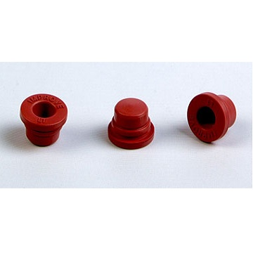 Halogenated butyl rubber plug (L1 red) for vacuum blood collector