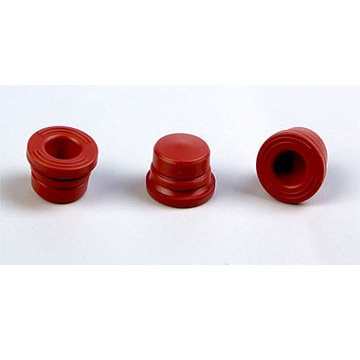 Halogenated butyl rubber plug for vacuum blood collector (15.4 red)