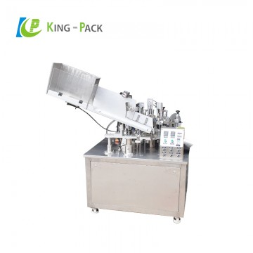 Automatic tube filling sealing machine