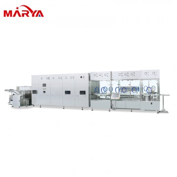 Vial filling sealing machine