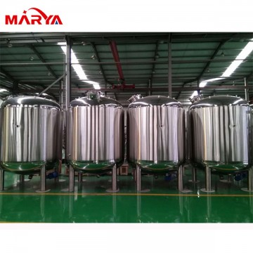 Pharmaceutical liquid mixing&storage tank