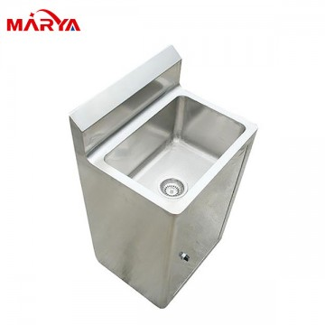 Stainless steel washing sink