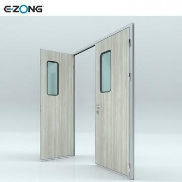 Clean Room Door with Hinge Patient Ward Medical double Door