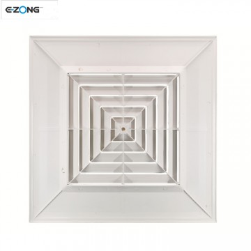 High quality ABS Square diffuser air diffuser