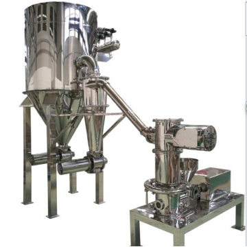 Jet mill according with GMP/FDA