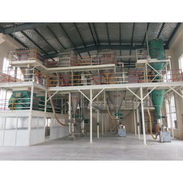 The Jet milling and mixing system for Agrochemical(WP)