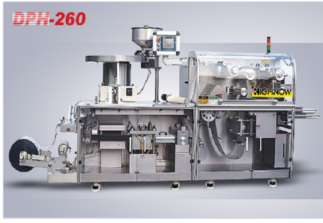 DPH-260 high - speed roller version of aluminum bubble cover packaging machine
