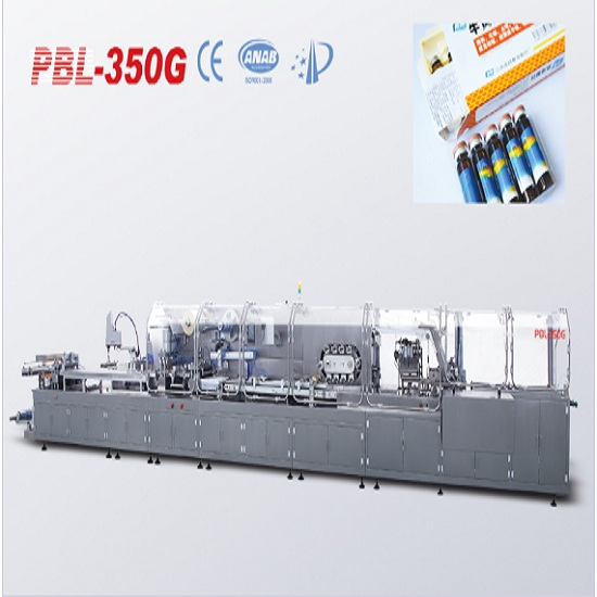 Pbl-350g ampoule/cilin/oral liquid high-speed packaging automatic production line