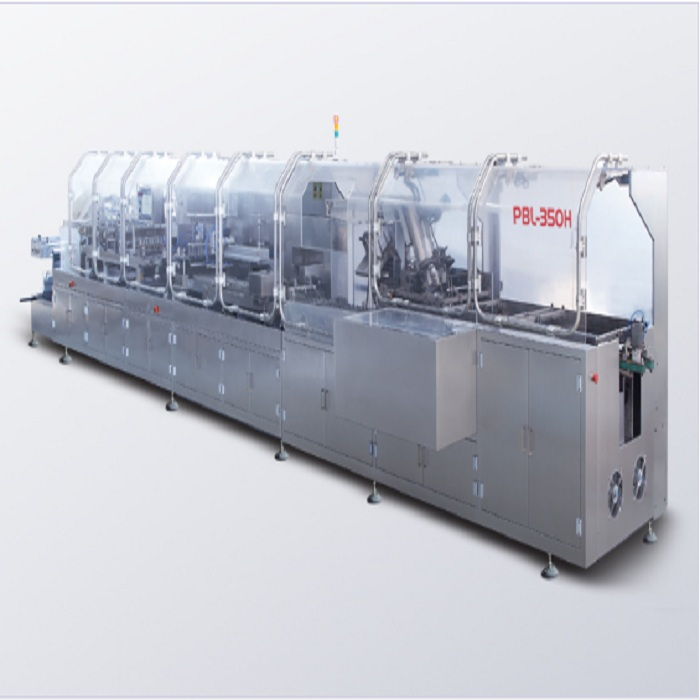 Pbl-350h ampoule/cilin/oral liquid packaging automatic production line