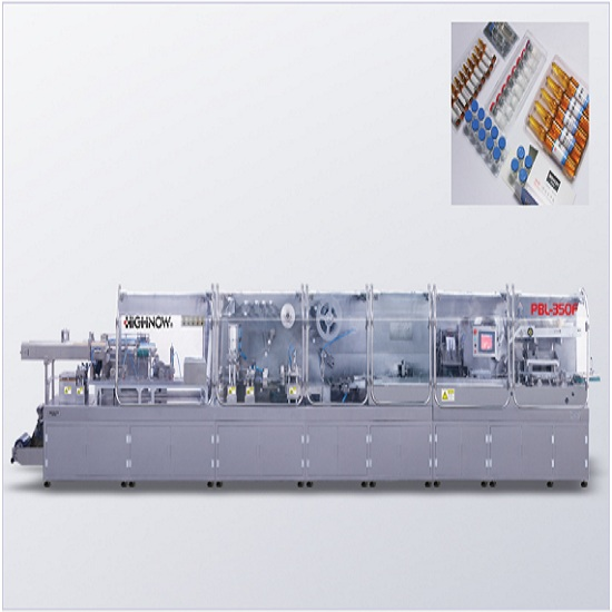 Pbl-350f ampoule/cilin bottle double feed packaging automatic production line