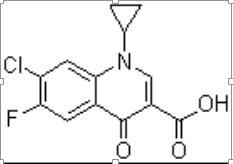 ( Cipro Q-Acid ) 7-Chloro-1-cyclopropyl-6- fluoro-1,4-dihydro-4- oxoquinoline-3-carboxylic acid