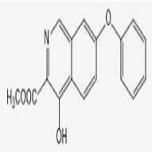 4-Hydroxy-7-phenoxy-3-isoquinolinecarboxylic acid methyl ester