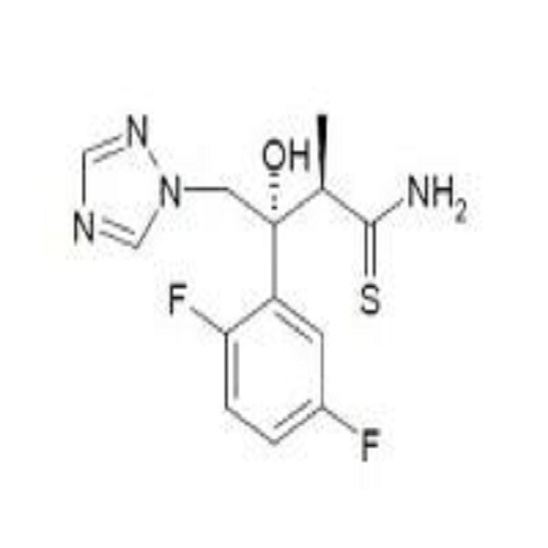 (2R,3R)-3-(2,5-Difluorophenyl)-3-hydroxy-2-methyl-4-(1H-1,2,4-triazol-1-yl)thiobutyramide