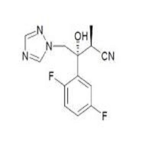 (alphaS,betaR)-beta-(2,5-Difluorophenyl)-beta-hydroxy-alpha-methyl-1H-1,2,4-triazole-1-butanenitrile