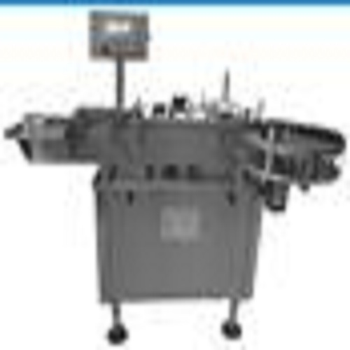 HY-SSLVertical Sticky Labeling Machine For Small Round Bottle