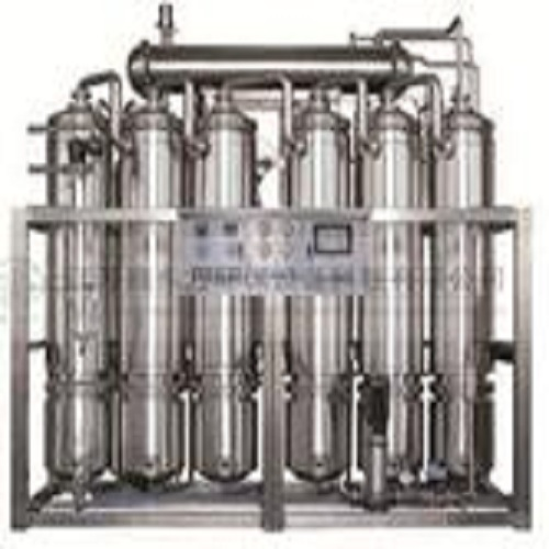 Multi-effect water distiller