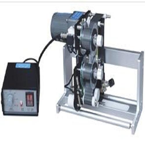 Lock-and-follow color ribbon printing machine