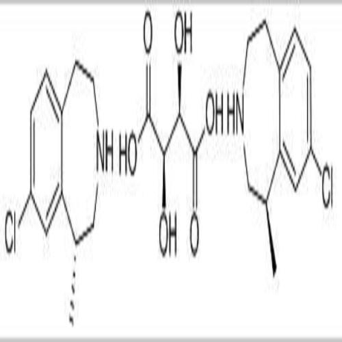 1H-3-Benzazepine, 8-chloro-2,3,4,5-tetrahydro-1-methyl-, (1R)-, (2R,3R)-2,3-dihydroxybutanedioate (2