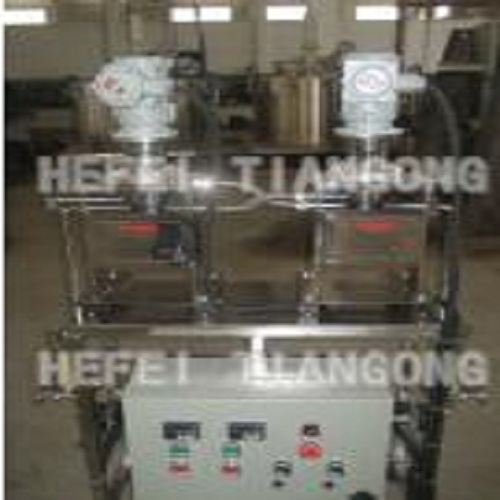 Small flow centrifugal extraction machine