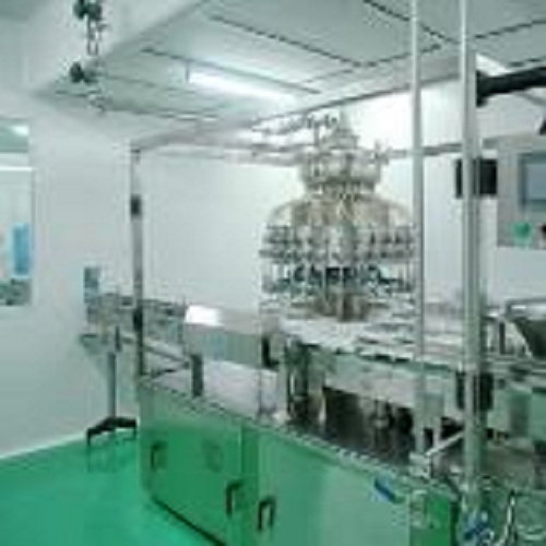 Pharmaceutical industry GMP plant