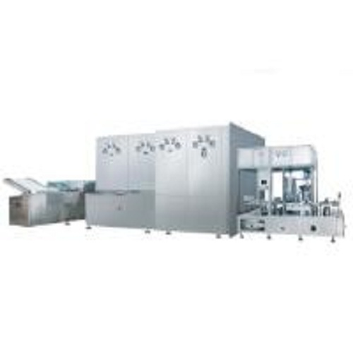 vial filling line for powder