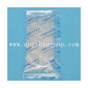 Silica gel desiccant in paper bag