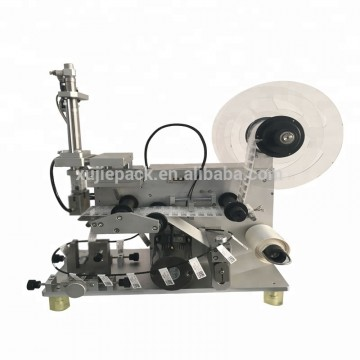 semi automatic usb power cable wire folded labeling machine