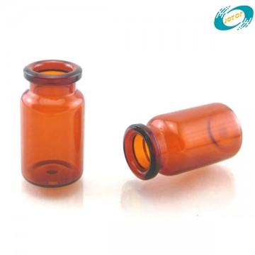 6R Amber Tubular Borosilicate Glass Vials for Injection
