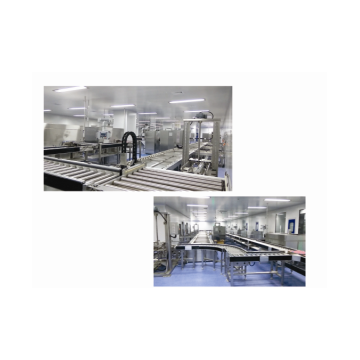 Water bath ampoule automatic logistics line