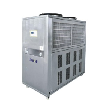 Air-cooled refrigerator at low temperature