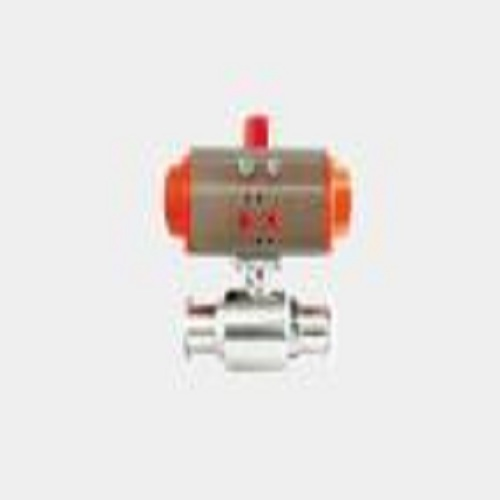 quick-installation pneumatic ball valve