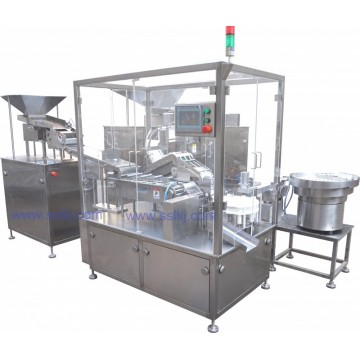 ZPP-60 effervescent tablet tube machine / tablet product automatic bottling gland