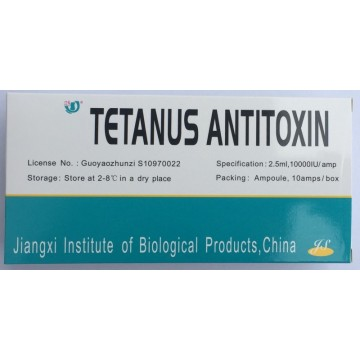 10000 IU Tetanus Antitoxin for Animal