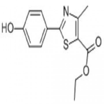 Ethyl 2-(4-Hydroxyphenyl)-4-Methylthiazole-5-Carboxylate