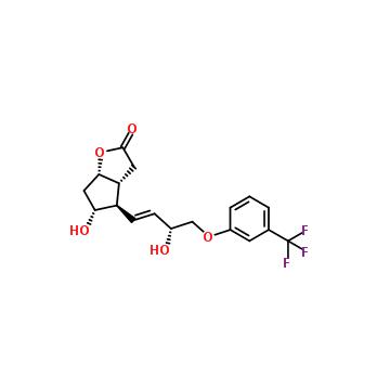 (3aR,4R,5R,6aS)-5-hydroxy-4-[(3R)-3-hydroxy-4- [3-(trifluoromethyl)phenoxy]but-1-enyl]-3,3a,4,5,6,6a