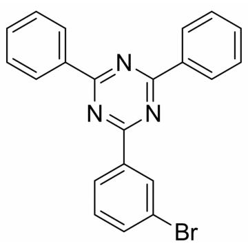 2-(3-bromo-phenyl)-4,6-diphenyl-1,3,5-triazine