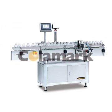 A107 Orientated Wrap-around Labeling System with Pneumatic Arm