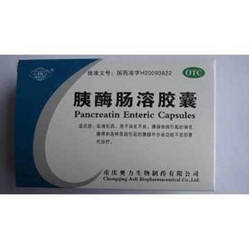 Pancreatin Enteric Capsules