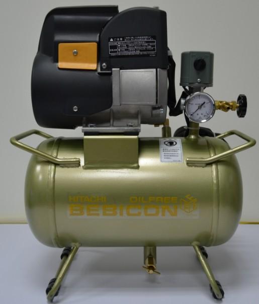 Hitachi LE small oil-free air compressor